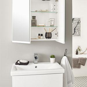 Ikon White Gloss Collection
