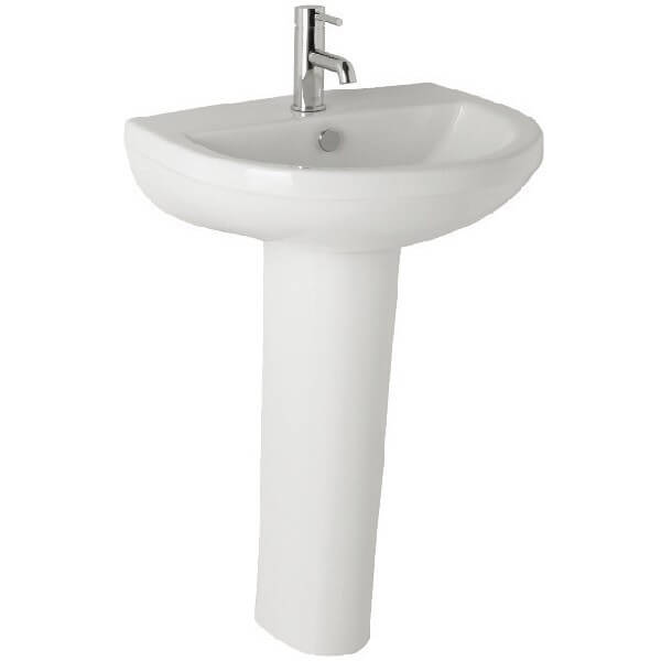 Basin and Full Pedestal