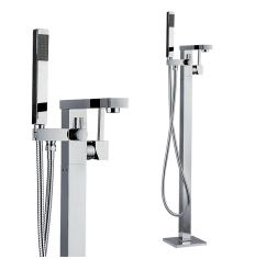Pure Free Standing Bath Shower Mixer Tap (shower head not included)
