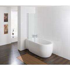 Eastbrook Advantage Deep Shower Bath (Right Hand Pictured