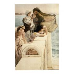 Original Style Alma-Tadema: At Aphrodite's Cradle