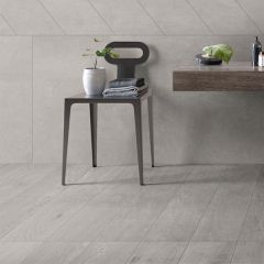 ABK Crossroad Wood Grey Rett Tile 20 x 120cm