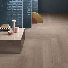 ABK Crossroad Wood Tan Rett Tile 20 x 120cm