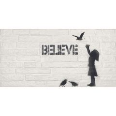ABK Do Up Decoro Street Kid Believe 60 x 120cm