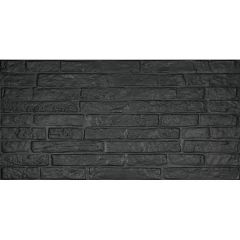 ABK Do Up Street Black Satin 60 x 120cm