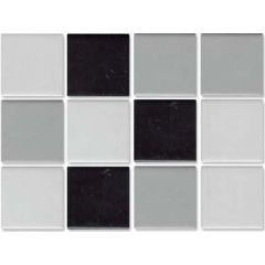 Arkitekt Matt Grey-Black Mix Mosaic