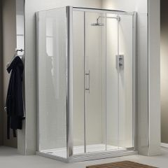 Ascent Sliding Door (shown with side panel)