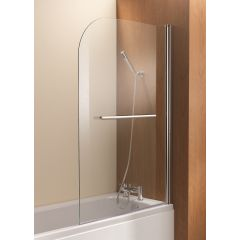 Ascent Radius Curved Bath Screen 1500 x 1000mm