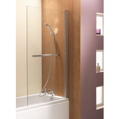 Ascent Square Bath Screen 1500 x 900mm