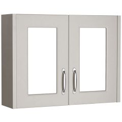 Astley Stone Grey 800mm Mirror Cabinet