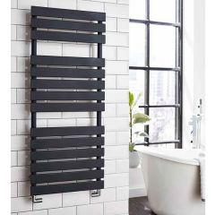 Oregon Anthracite Heated Towel Rail