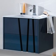 Porcelanosa Bambu Vanity Unit Shadow Grey