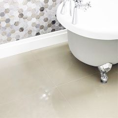 Bellagio Ivory Polished Porcelain Tile 60 x 60cm