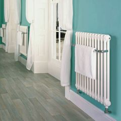 Bisque Classic Towel Radiator White