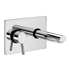 Bristan Prism Single Lever Wall Mounted Basin Mixer Tap