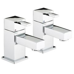 Bristan Quadrato Basin Taps (Pair)