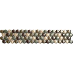 Dartmoor Naturals Glass Dots Beige Strip 31.2 x 6cm