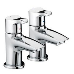 Bristan Capri Basin Pillar Taps (Pair)