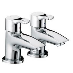 Bristan Capri Bath Pillar Taps (Pair)