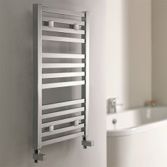 Capricorn Flat Chrome Towel Rail