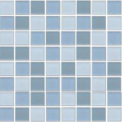 Ceramic Pool Gloss Mediterranean Mix Mosaic Ceramic Pool Tile