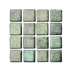 Ceris Metalica Plata Glass Mosaic
