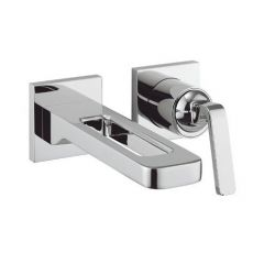 Crosswater KH ZERO 1 Wall Mounted Basin Tap 2 Hole Set