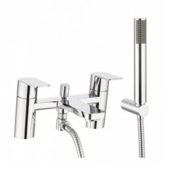 Crosswater KH ZERO 6 Deck Mounted Bath Shower Mixer With Shower Kit