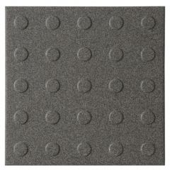 Dorset Woolliscroft MultiDisk Dark Grey Tile 148 x 148mm