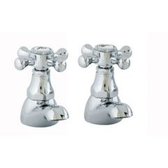 Duke Basin Pillar Taps (Pair)