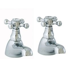 Duke Bath Pillar Taps (Pair)