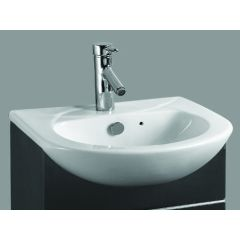 Ebony Semi-Recessed Basin - 1 or 2TH