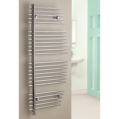 Emerald Flat Chrome Towel Rail