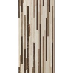Ethereal Brown Stripes Mosaic Tile 30 x 60cm
