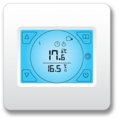 Ezewarm ETS Touch-screen Thermostat Black