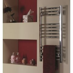 Genesis Flat MF Chrome Towel Rail