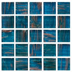 Jewel Amazonite Glass Mosaic