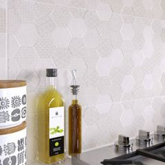 Grafen White Decor Tile 30 x 60cm