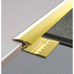 Gripstrip Gold Carpet to Tile Trim