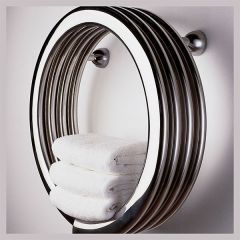 Bisque Hot Hoop Towel Radiator