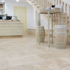 IS Lydia Classico Tumbled Travertine 20.3 x 20.3