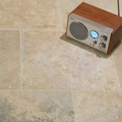 IS Roman Classic Honed & Filled Travertine 40.6 x 40.6cm