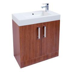 Liberty Walnut 700mm Cabinet With Basin