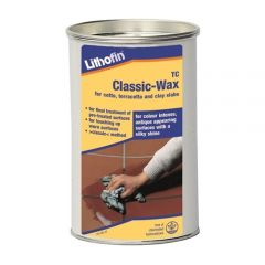 Lithofin Terracotta Classic Wax (Natural Finish) 1 Ltr