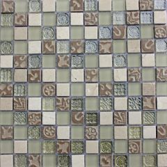 Lux Linen Mixed Mosaic