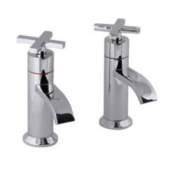 Marna Bath Pillar Taps (Pair)