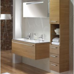 Mereway Java Light Oak Modular Bathroom