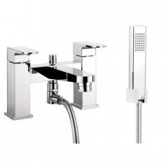 Modest Deck Mounted Bath Shower Mixer Tap With Kit