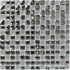 Mosaics Faceted Glass 30 x 30cm