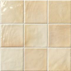Napoli Crema Ceramic Wall Tiles 10 x 10cm